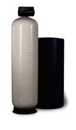 Commercial series water softener